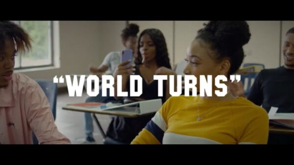 "Watch: @3DollarJoe1 in ""World Turns"""