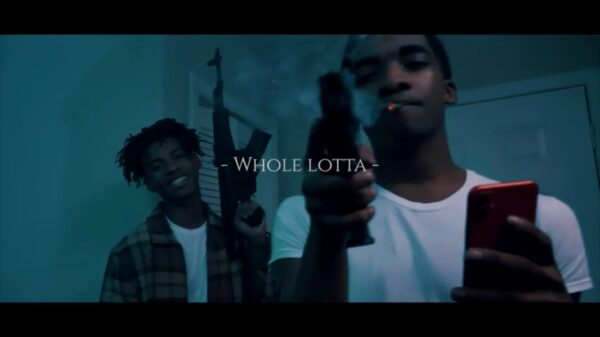 "Watch: @SelfPaidAce in ""Whole Lotta"""
