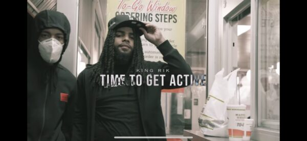 "Watch: King Rik in ""Time To Get Active"""